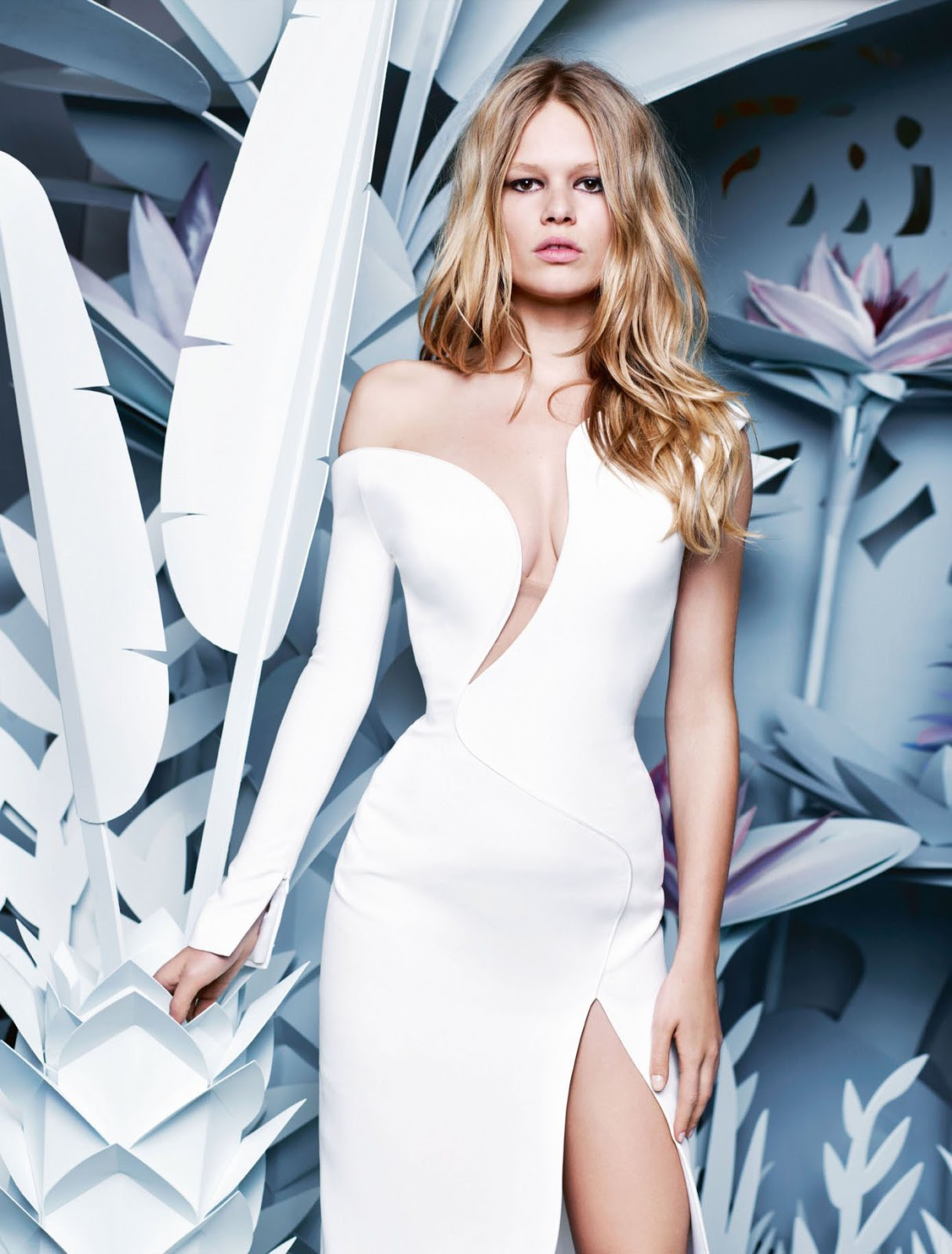 df4ca27197229 Monday Inspiration  Anna Ewers By Karl Lagerfeld For Numéro March ...