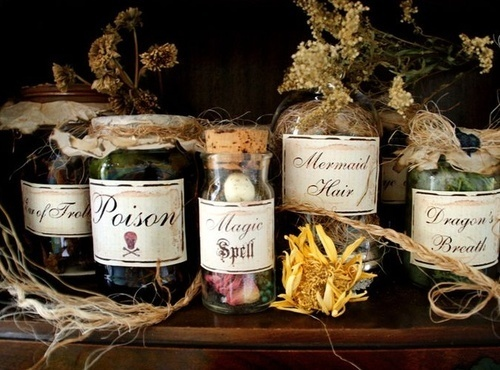 potions, witches, spells