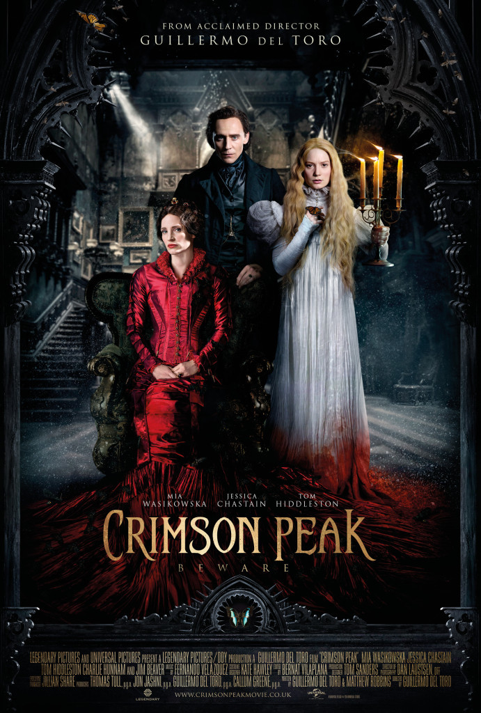 crimson peak new poster, crimson peak