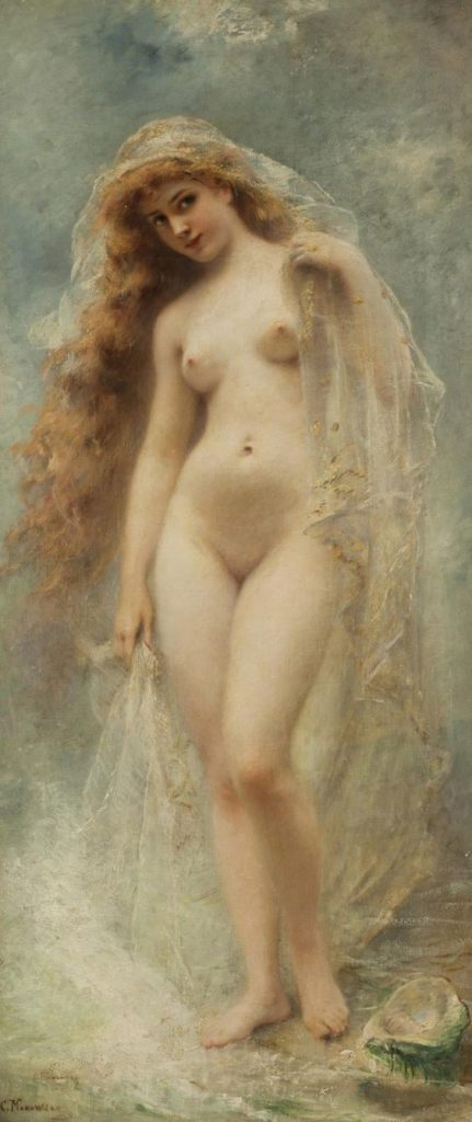 Birth of Venus by Konstantin Makovsky, Birth of Venus, Konstantin Makovsky
