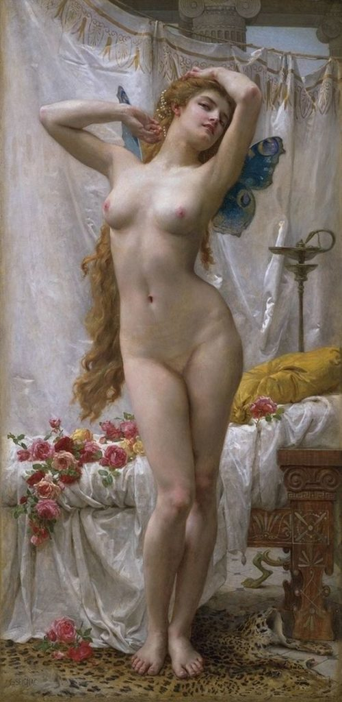 The Awakening of Psyche by Guillaume Seignac, Guillaume Seignac, The Awakening of Psyche