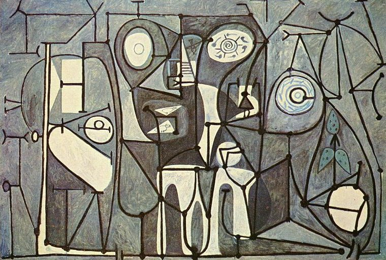 The Kitchen Pablo Picasso, Pablo Picasso, The Kitchen painting